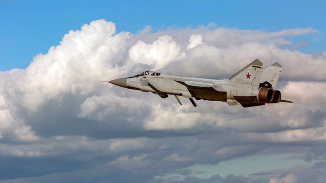На Камчатку перебросили модернизированные МиГ-31БСМ