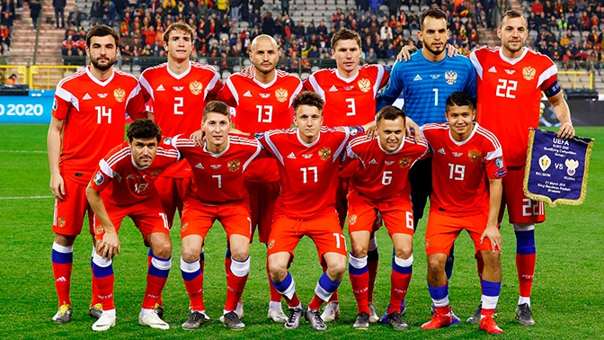Назван окончательный состав сборной России по футболу на ЧЕ-2020