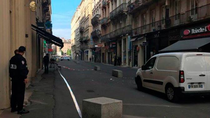 При взрыве в Лионе пострадали 13 человек