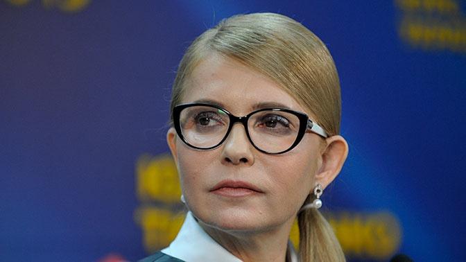 Тимошенко высказалась против референдума по переговорам с Россией