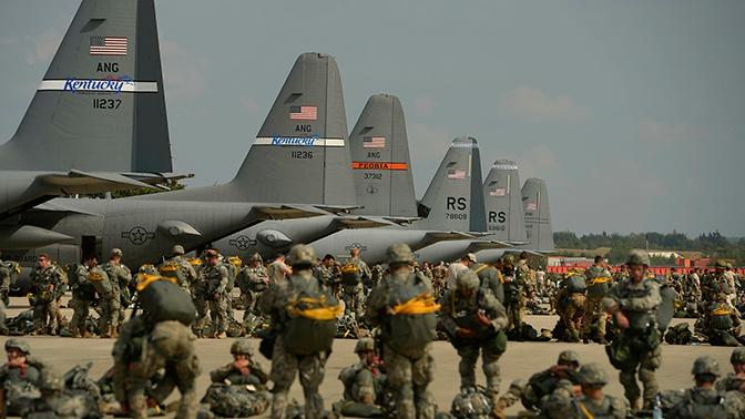 Трамп одобрил отправку военных на Ближний Восток