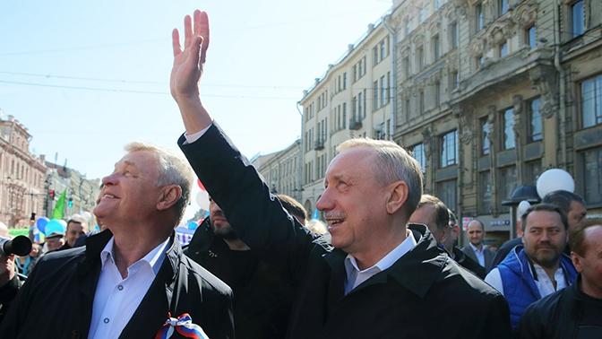 Врио губернатора Петербурга Беглов решил участвовать в выборах главы города