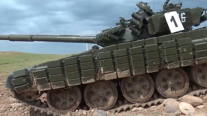 Поездка американских кадетов на советском танке Т-64 попала на видео