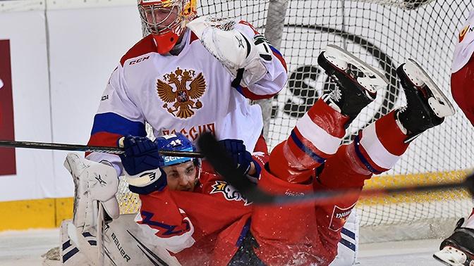 Сборная России по хоккею играет в матче за бронзу ЧМ с командой Чехии