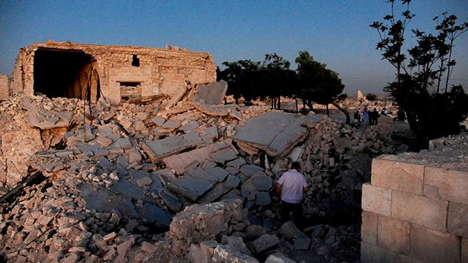 Боевики нанесли удары по сирийской Хаме из РСЗО