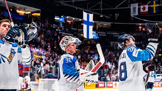 Сборная Финляндии стала чемпионом мира по хоккею
