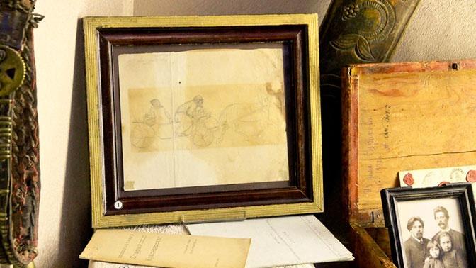 В Красноярске обнаружили неизвестный рисунок Сурикова