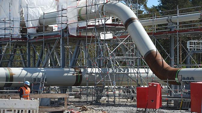 «Работы на пять недель»: Миллер оценил сроки строительства «Северного потока - 2» в Дании