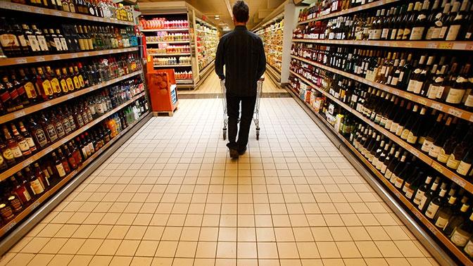 СМИ: Минздрав РФ поддержал идею продавать спиртное в спецмагазинах
