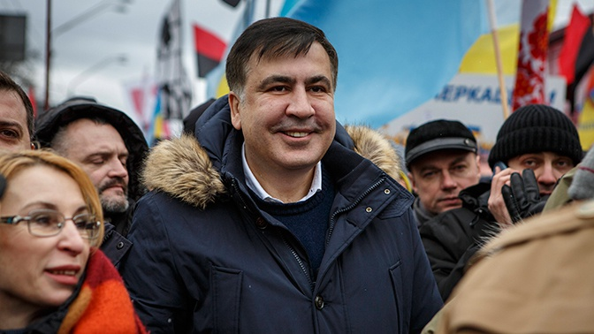 Саакашвили объяснил отсутствие современной архитектуры на Украине