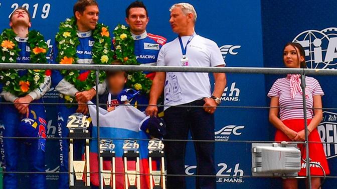 Российская команда завоевала бронзу в гонке «Ле-Ман»
