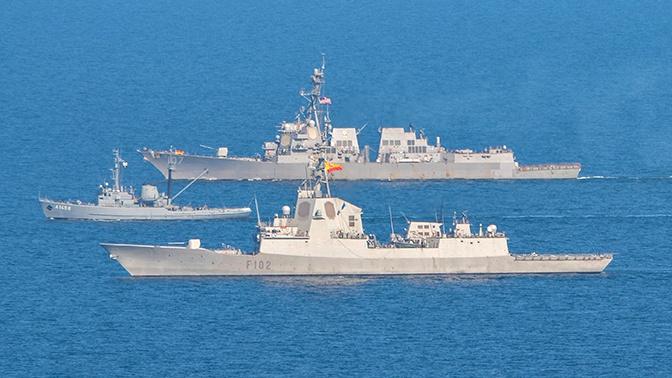 В Минобороны РФ рассказали о ходе учений НАТО на Балтике