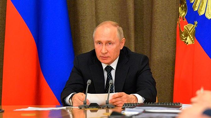 Путин провел совещание по подготовке к прямой линии