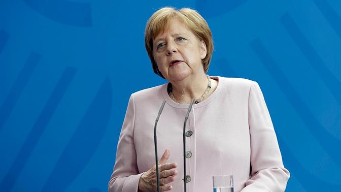 Меркель озвучила условие для ослабления санкций против РФ