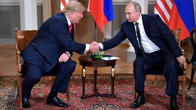 Трамп заявил о предстоящей встрече с Путиным на G20