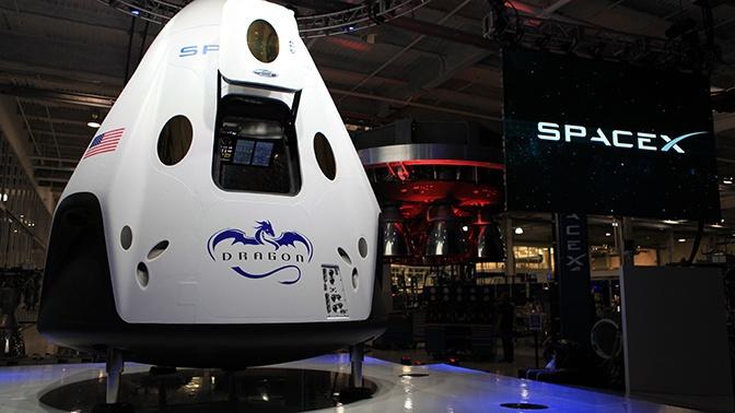 Названа дата первого полета Crew Dragon с экипажем к МКС