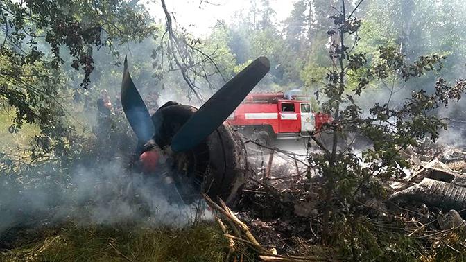 На Украине потерпел крушение самолет Ан-2