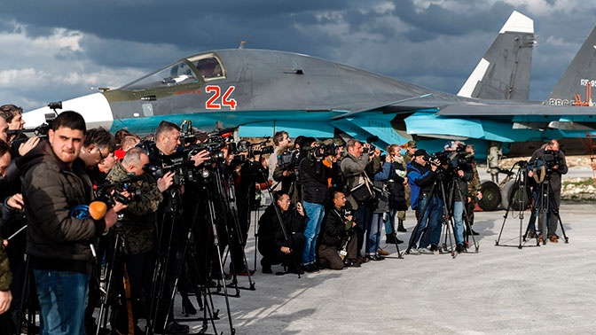 Минобороны РФ организовало работу более двух тысяч журналистов в Сирии