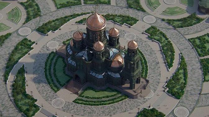 Макет Главного храма ВС РФ показали на форуме «Армия-2019»