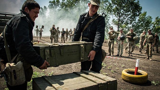 США выделят Украине средства на склады для боеприпасов