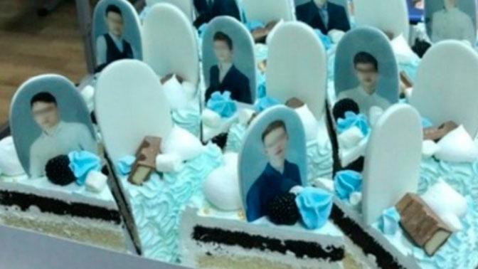 «Пошутили»: торт с «надгробиями» презентовали выпускникам в Красноярске