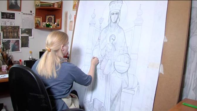Иконы в Главном храме ВС РФ расскажут прихожанам о военной истории