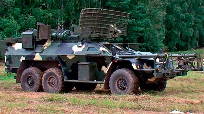 Российская армия получила машину дистанционного разминирования «Листва»