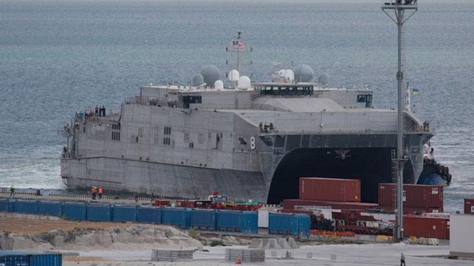 СМИ: США перебросили морскую пехоту в порт Одессы