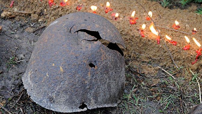 Останки 25 советских участников битвы на Халкин-Голе захоронили в Монголии