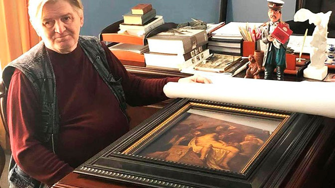 Подлинную картину Рубенса нашли на Урале