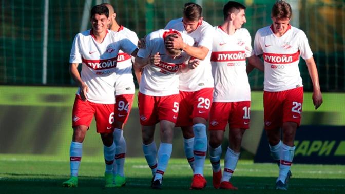«Спартак» обыграл ЦСКА на турнире в Австрии