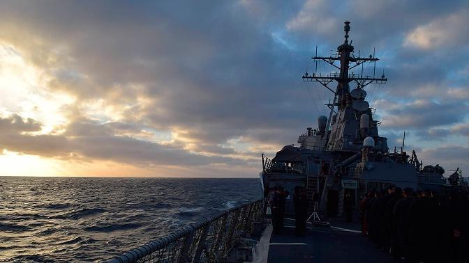Черноморский флот России контролирует действия кораблей НАТО на учениях Sea Breeze