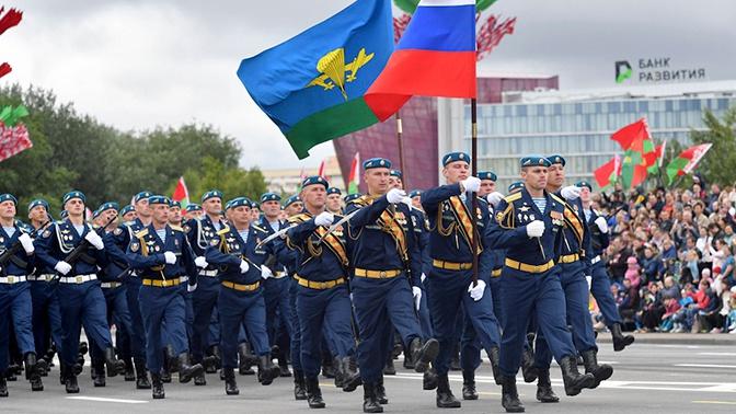 Военнослужащие ЗВО примут участие в параде в честь Дня независимости Белоруссии