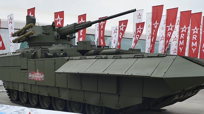 Названы сроки проведения испытаний перспективного 57-мм боевого модуля для Т-15
