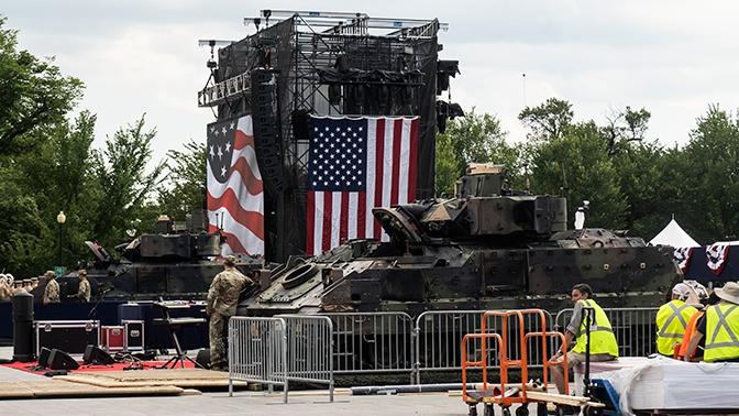 В Пентагоне объяснили появление ржавой техники на День независимости США