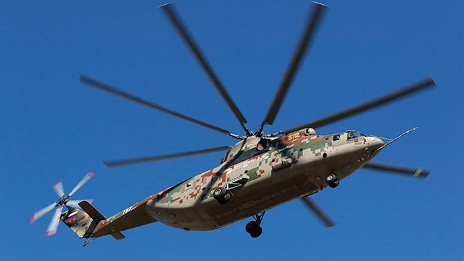 Первый Ми-26Т2В поступит в войска в 2021 году