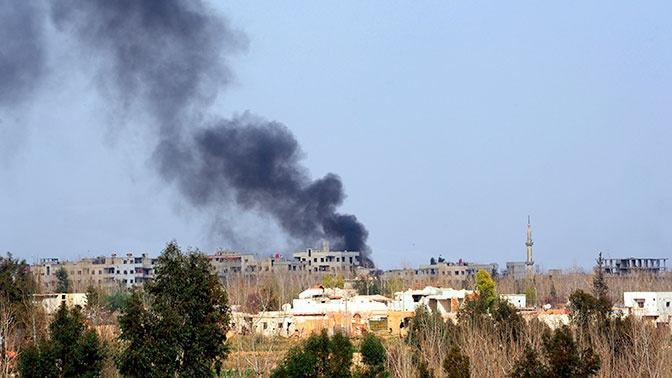 Боевики нанесли удар по сирийской Хаме