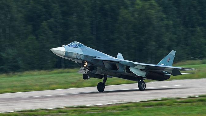 Истребители Су-57 смогут базироваться на новом авианосце