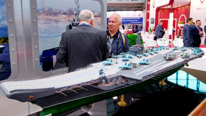 В Петербурге представили новый авианосец проекта «Ламантин»