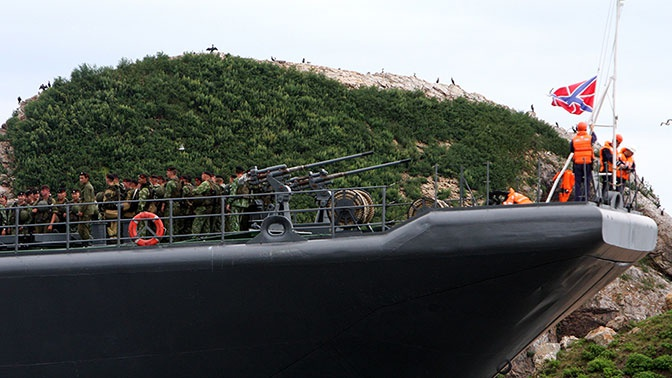 В Петербурге представили новый десантный корабль «Кайман»