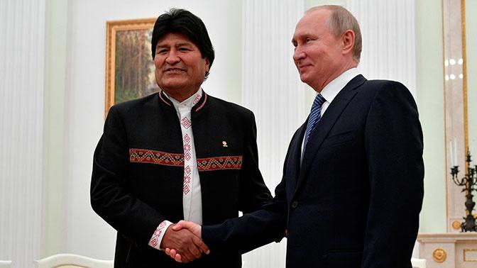 Боливия хочет купить у России военную технику