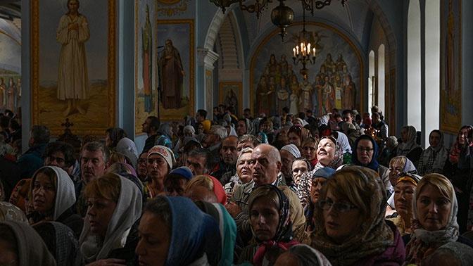 Православные христиане отмечают день Петра и Павла