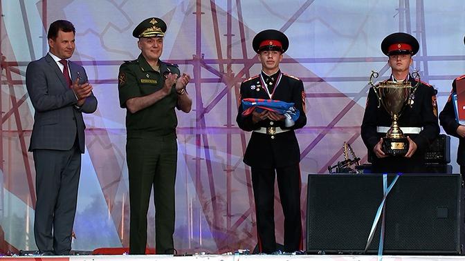 В «Патриоте» торжественно завершилась военно-спортивная игра «Победа»