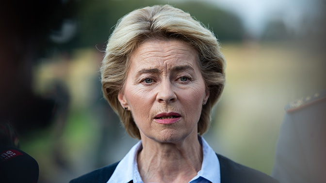 Глава Минобороны Германии уходит в отставку