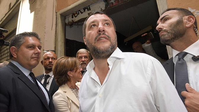 Вице-премьер Италии заявил о попытке покушения на него украинских неофашистов