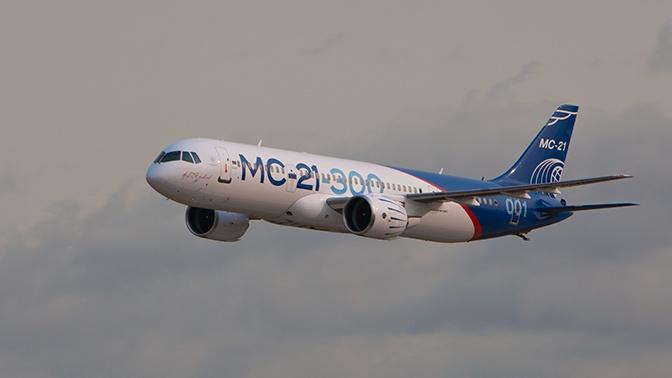 МС-21 с российским двигателем выйдет на испытания в 2020 году