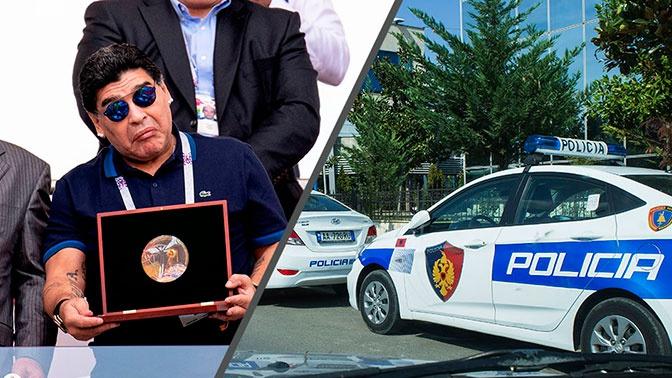 Рука бога: террорист в Албании представлялся Диего Марадоной