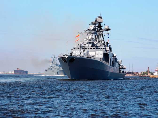Большой противолодочный корабль «Североморск»