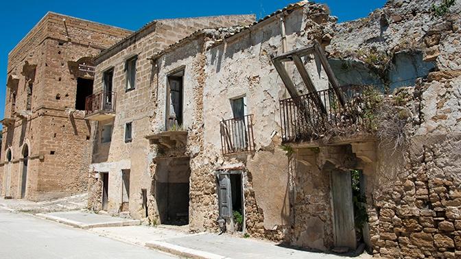 В Сицилии восстановят разрушенный город-призрак