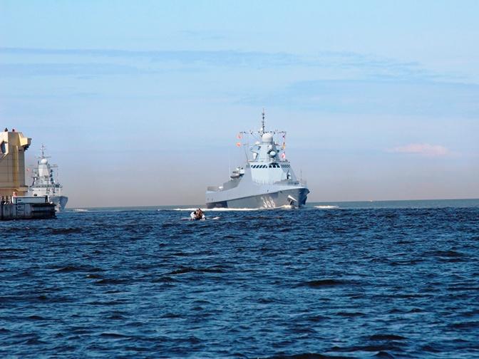 Патрульный корабль «Василий Быков»
